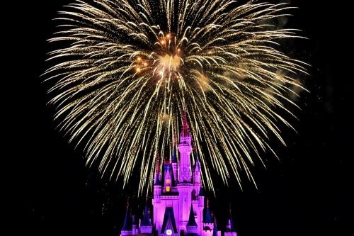 Wishes Fireworks Show at Magic Kingdom