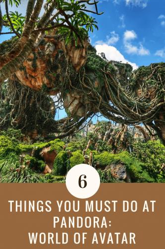 Top 6 Things to do at Pandora World of Avatar- Livingbydisney.com