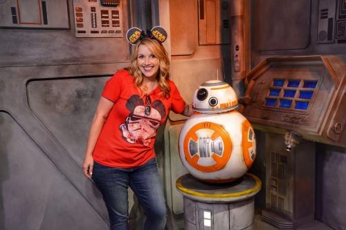 BB-8 Star Wars at Disney World