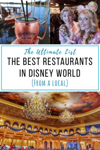 Best Restaurants in Disney World - Livingbydisney,com