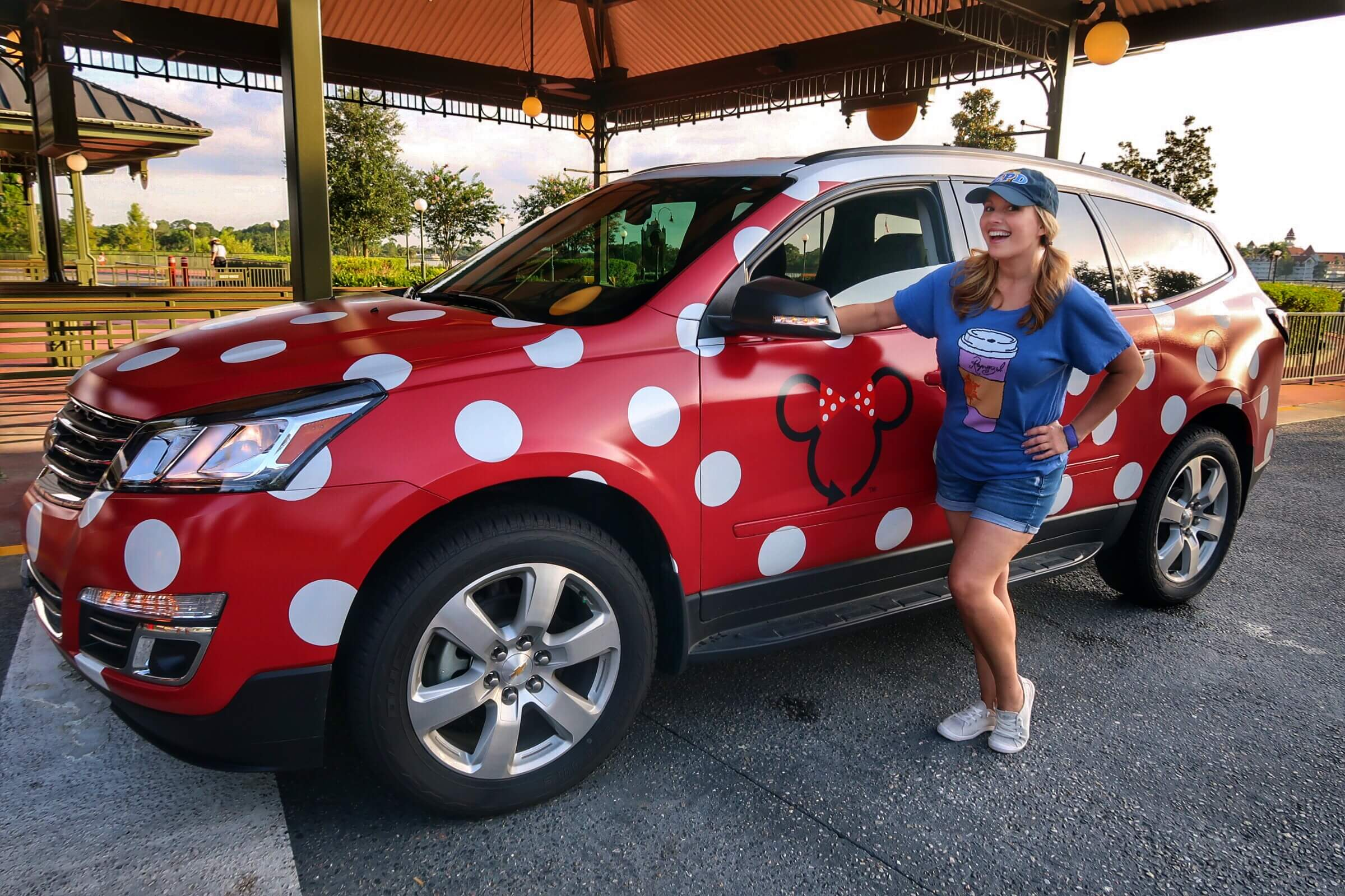 45dfa3057a Review  Minnie Vans are Disney World s own Taxi Service - Living By ...