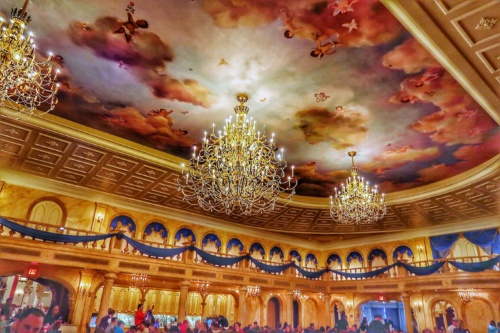 Be Our Guest Restaurant best Disney World Places to Eat