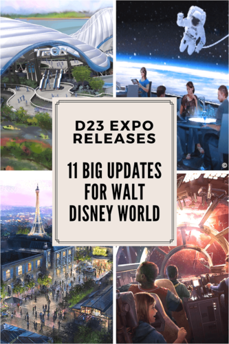 11 Big Changes Coming to Walt Disney World #D23 Expo