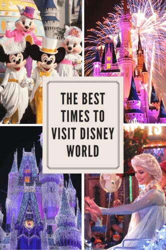 Best Times to Visit Disney World-Livingbydisney.com