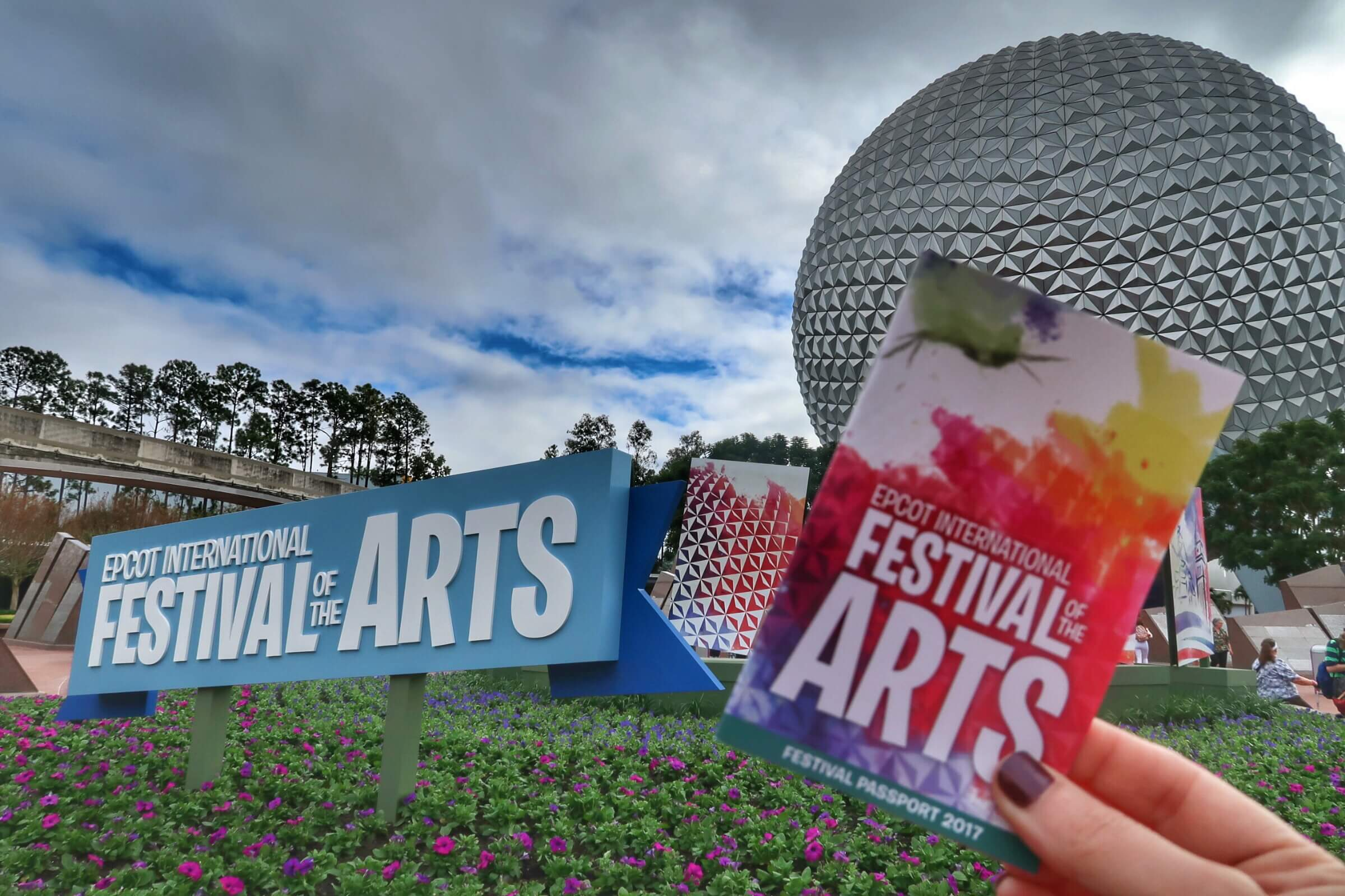 Epcot Festival Of The Arts Living By Disney