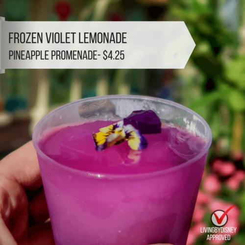 Disney World Epcot's Flower and Garden Festival must do Best planning Your Visit Violet lemonade