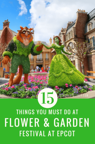 15 things must do at epcot flower and garden festival 2018 disney world