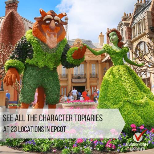 Disney World Epcot's Flower and Garden Festival must do Best planning Your Visit